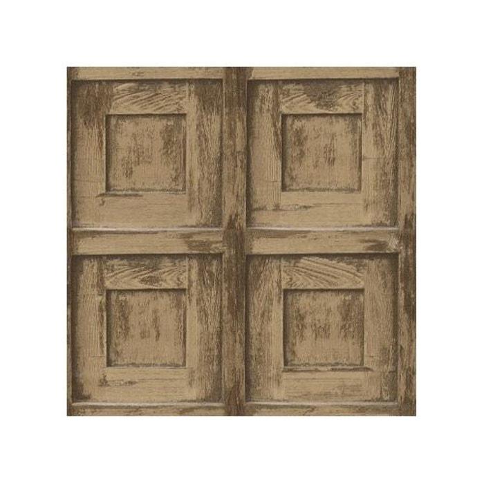 papier peint bas relief aspect bois home maison la redoute. Black Bedroom Furniture Sets. Home Design Ideas