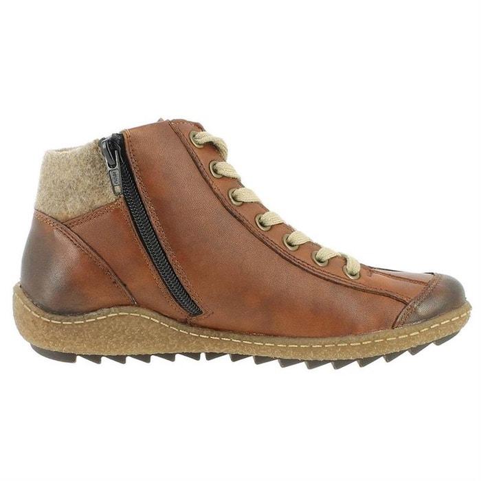 Dédouanement Livraison Rapide Wiki Pas Cher Chaussures à lacets cuir + synthetique marron Remonte Vente Pas Cher Profiter Jeu En Édition Limitée 9ZvTPqUXU