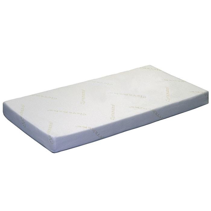 matelas pour lit b b clevamama 60 x 120 couleur unique clevamama la redoute. Black Bedroom Furniture Sets. Home Design Ideas