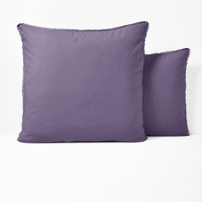 AMEY Plain Cotton Percale Pillowcase  La Redoute Interieurs image 0