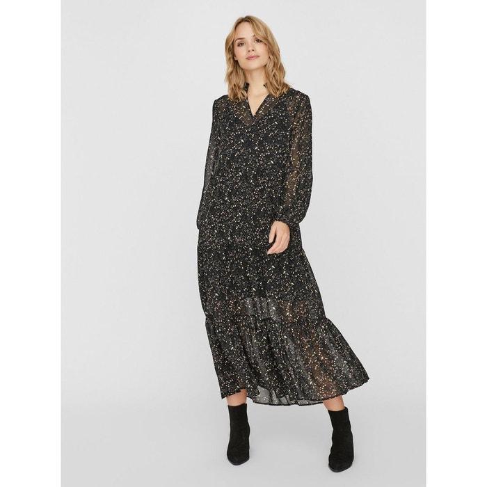 Robe Longue Imprimee Vero Moda La Redoute