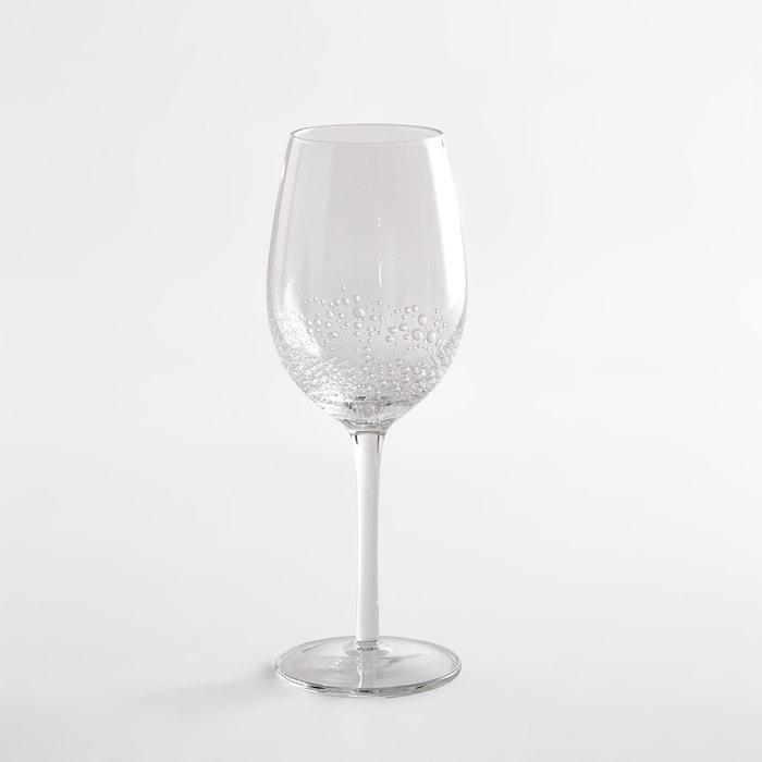 Galio 4 Bubble-effect Wine Glasses  La Redoute Interieurs image 0
