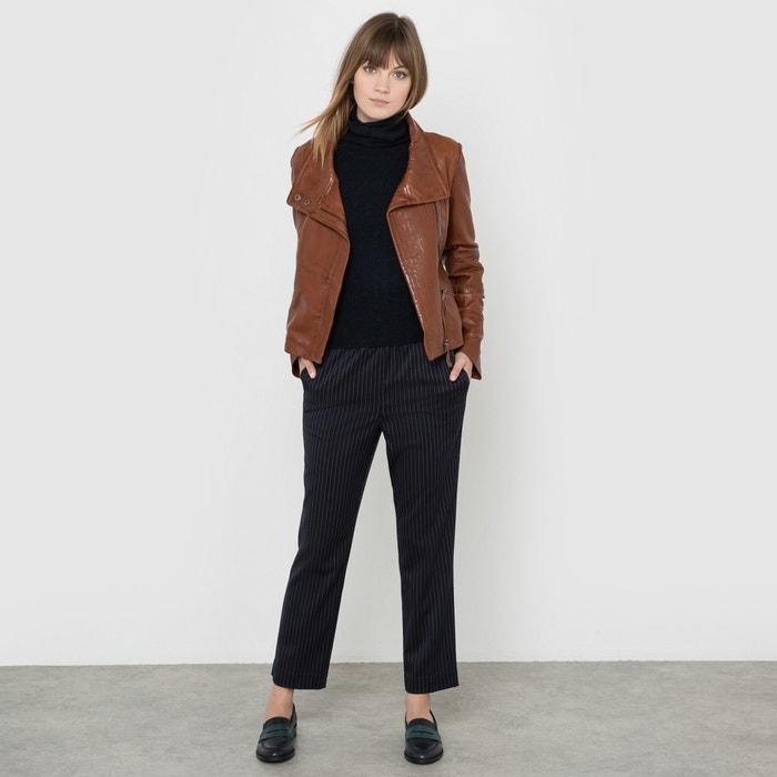 фото Блузон кожаный SOFT GREY