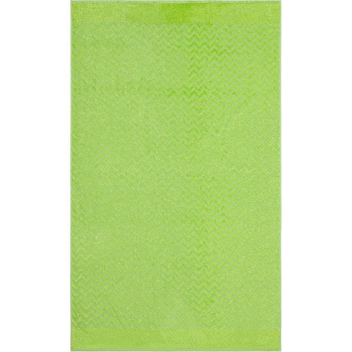 Drap De Plage Vague Vert Vert Anne De Solene La Redoute