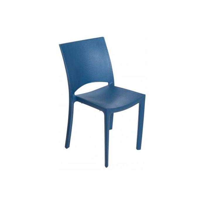 Chaise Design Bleue Effet Croco POUPEE DECLIKDECO Image 0