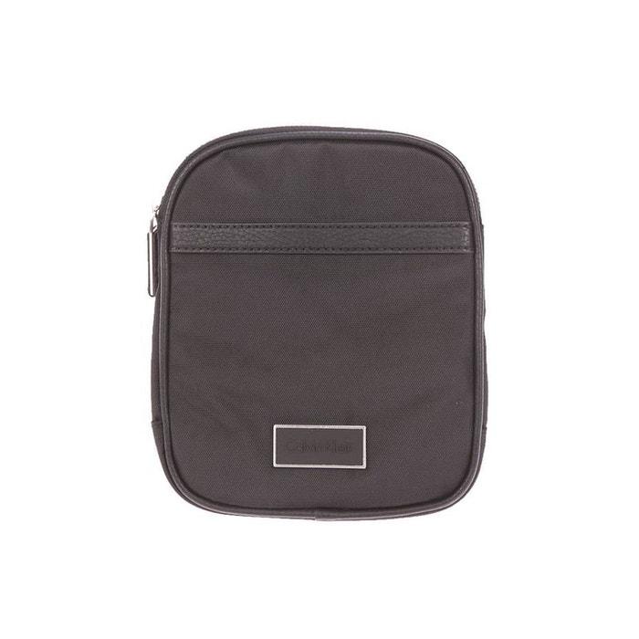 Petite sacoche plate ethan jeans en nylon noir nylon noir Calvin Klein Jeans | La Redoute Acheter Pas Cher Nouveau sxG7byqBy