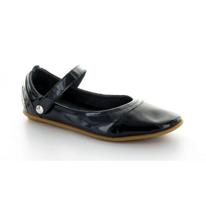 Pataugas Ballerine  Swan Noir verni Noire - Chaussures Ballerines Femme