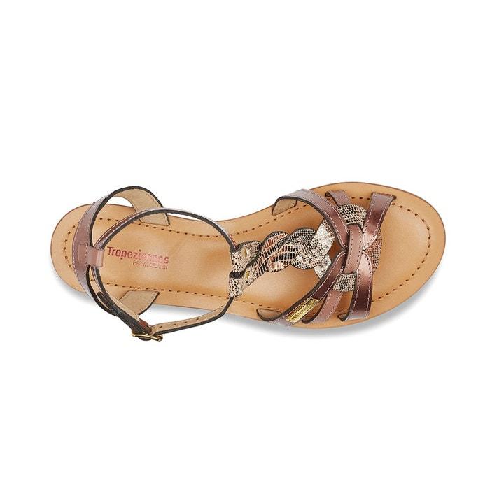 Sandales cuir hams Les Tropeziennes Par M Belarbi