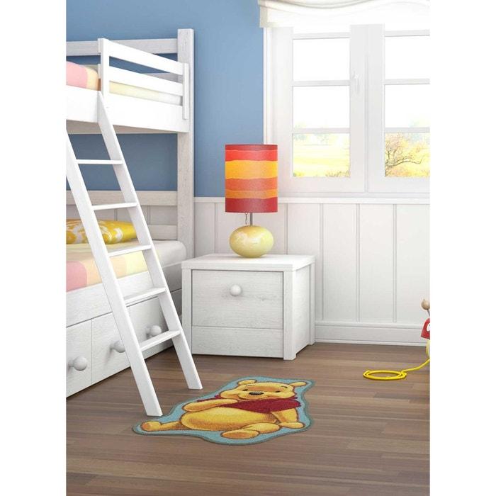 tapis shaped winnie ourson jaune tapis enfants 50 x 80 cm jaune winnie the pooh la redoute. Black Bedroom Furniture Sets. Home Design Ideas