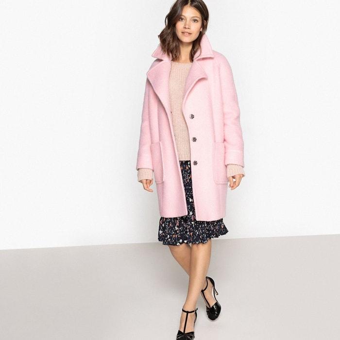 Manteau en laine mélangée  LA REDOUTE COLLECTIONS image 0
