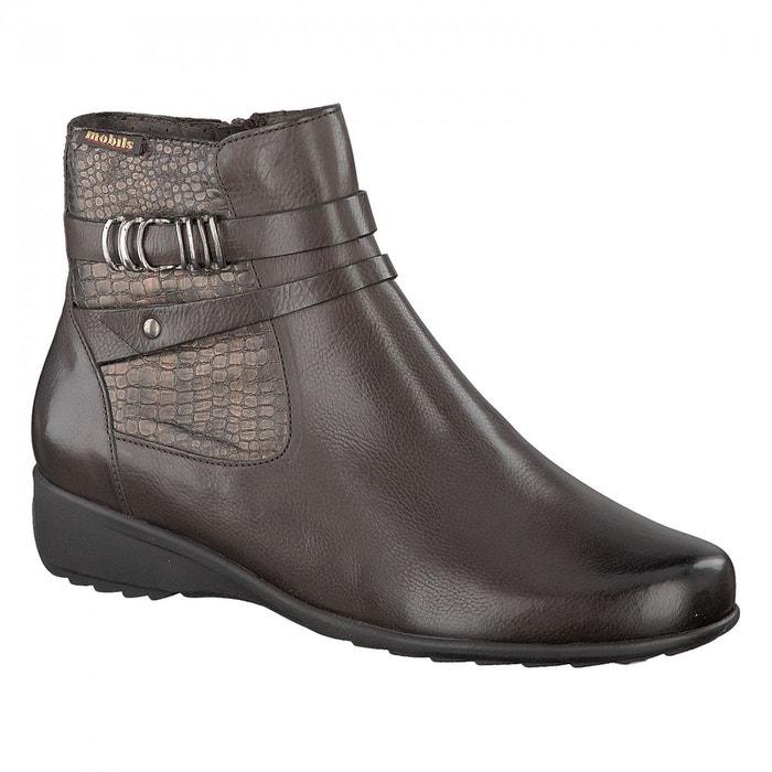 Boots safira  marron Mephisto  La Redoute