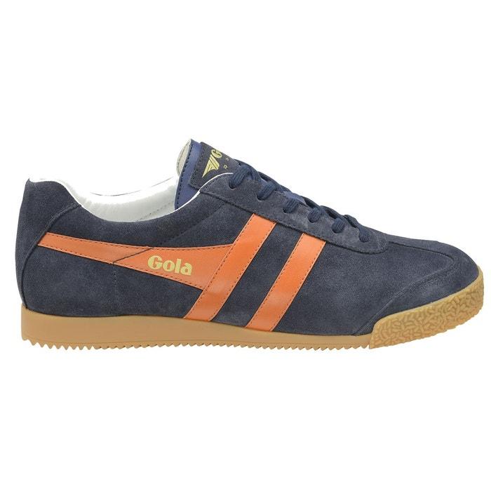 Baskets harrier marine/orange Gola