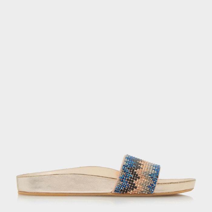 Sandales à chevrons - laizer Dune London