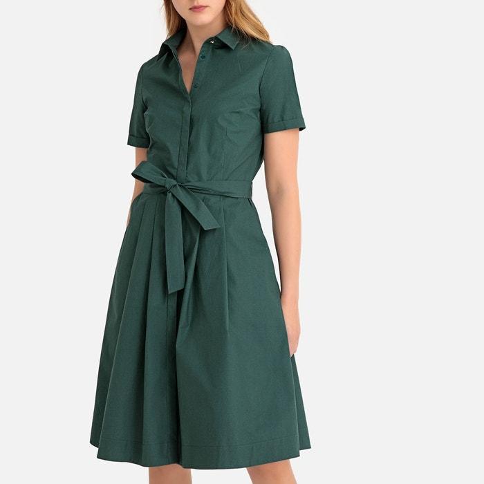 Robe chemise évasée, boutonnée, avec ceinture La Redoute Collections   La  Redoute 7aff09eb7af