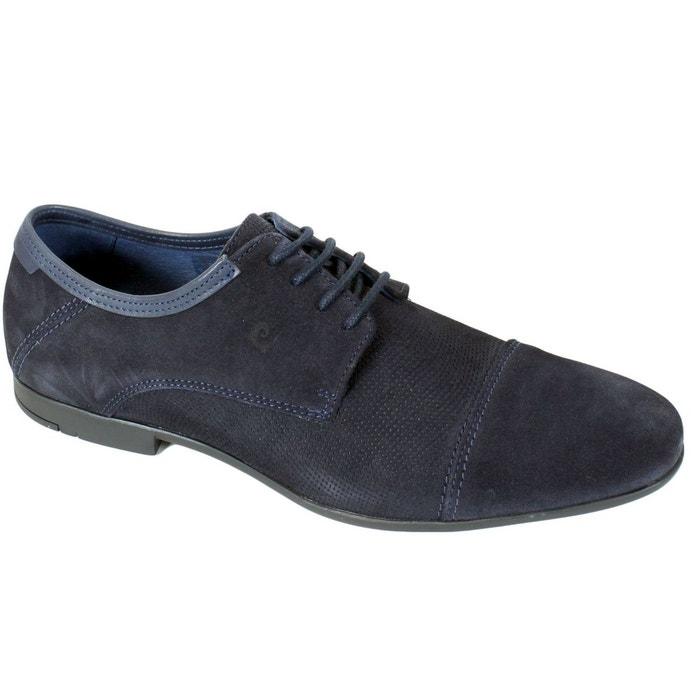 Chaussures pierre cardin en cuir pito bleu Pierre Cardin