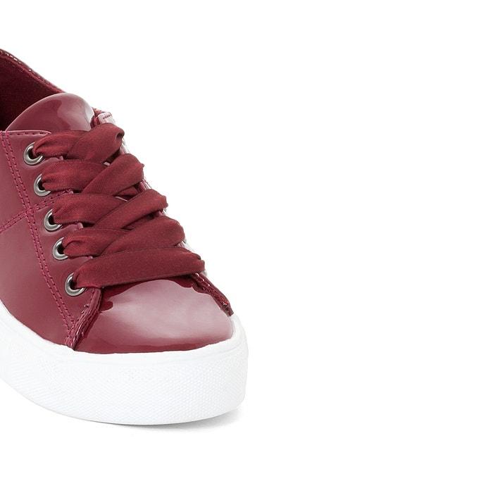 afbeelding Gelakte sneakers, 26-39 La Redoute Collections