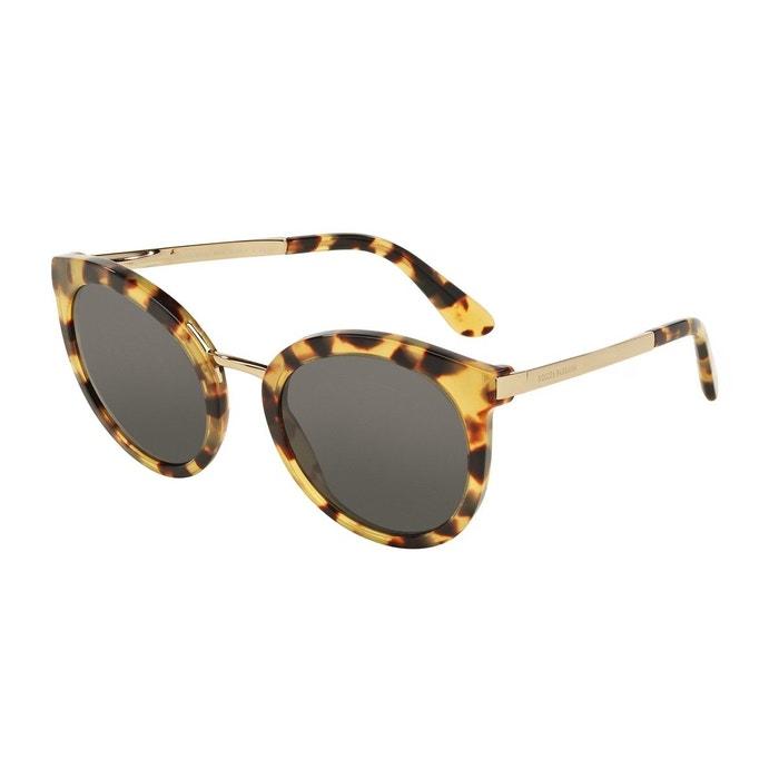 6542282f1a9e73 Lunettes de soleil dg4268 marron glacé Dolce Gabbana   La Redoute