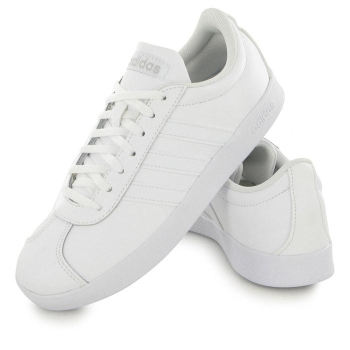 Baskets Adidas Vl Court 2.0 Blanc Femme W1i3iEe7w