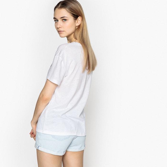 Camiseta lisa PEPE redondo corta manga y cuello JEANS con Zq5Ep5