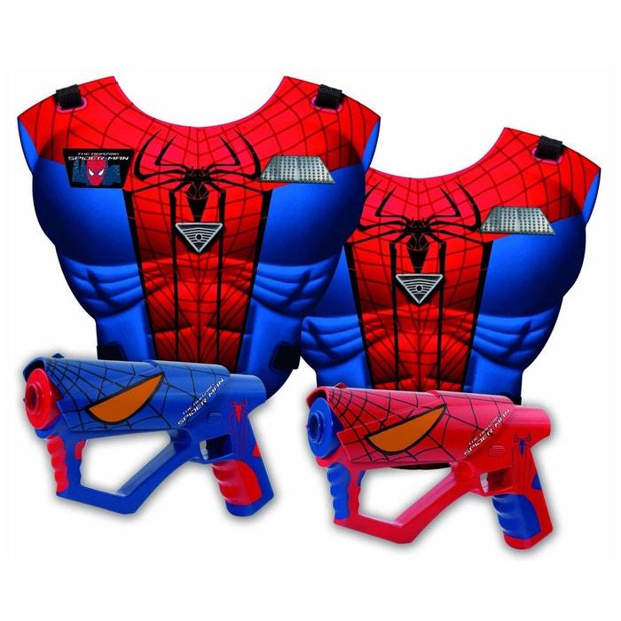 Set Mega Laser Spiderman : Cuirasses + pistolets IMC TOYS