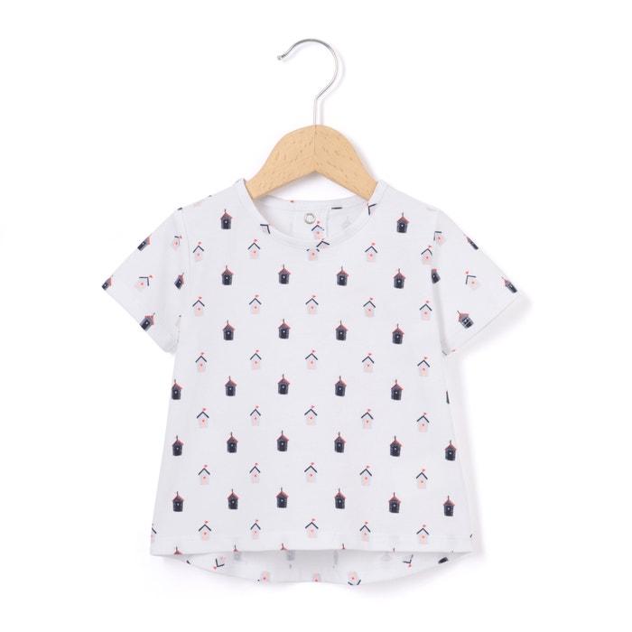 Image T-shirt imprimé cabane 1 mois-3 ans La Redoute Collections