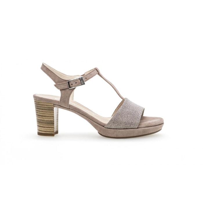 Sandales beiges  beige Gabor  La Redoute