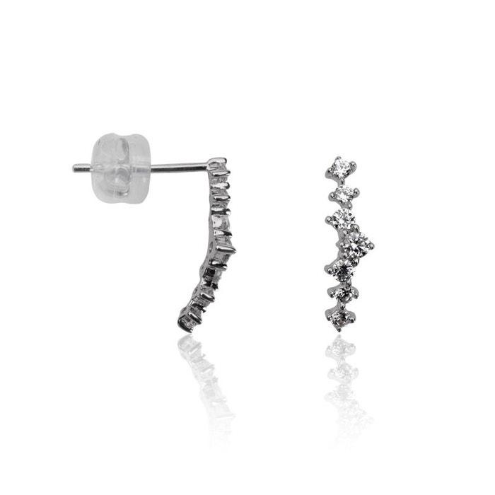 Boucles d'oreilles or 375/1000 blanc Cleor | La Redoute Amazone Jeu explorer Jeu Abordable 6nmic7hfx