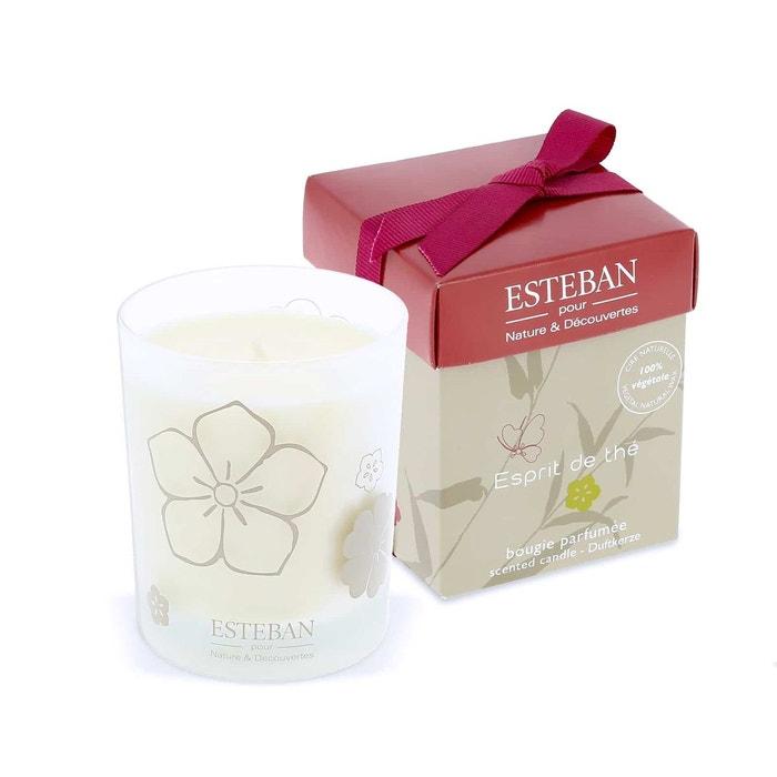 Bougie esprit de th esteban couleur unique nature et decouvertes la redoute - Diffuseur de parfum nature et decouverte ...