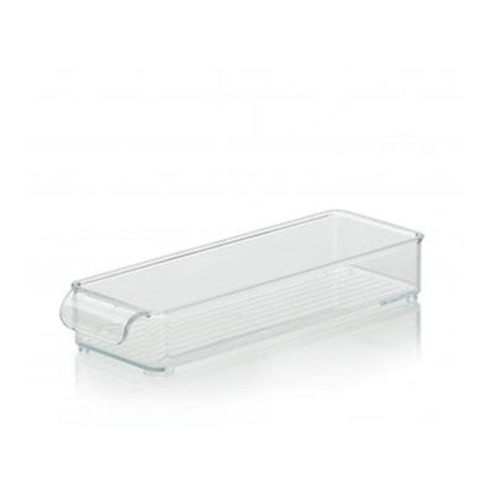 bo te de rangement pour r frig rateur et placards de cuisine 30cm x 10cm x 5cm transparent. Black Bedroom Furniture Sets. Home Design Ideas