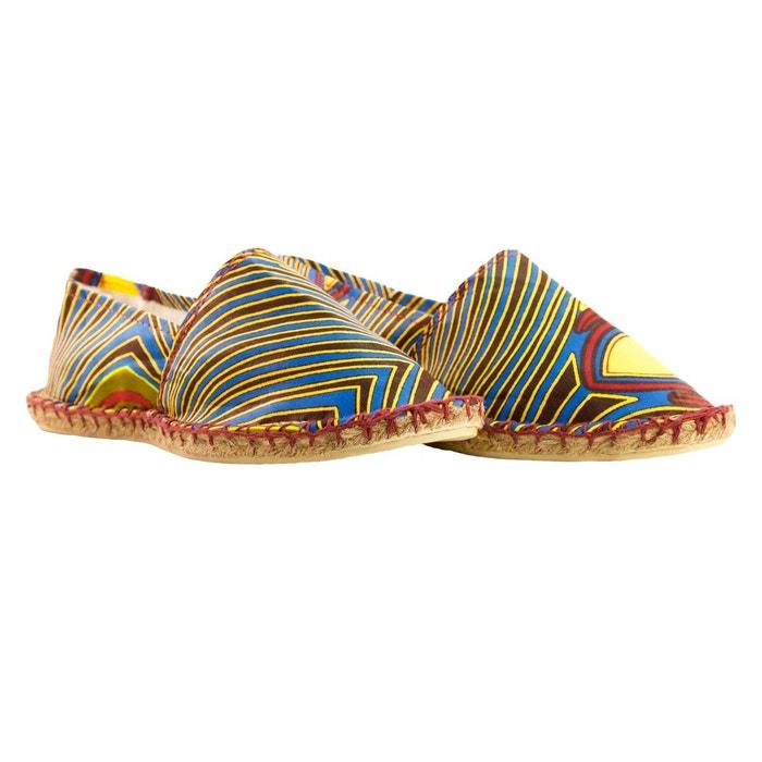 sports shoes a0339 2b641 Espadrilles mixtes en wax multicolore La Brousse La Redoute GH8HUA1Z -  franceweddingphotographer.fr
