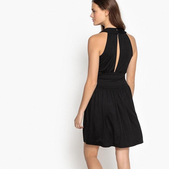 La Redoute de Vestido punto con Collections cuello joya a8qwfra
