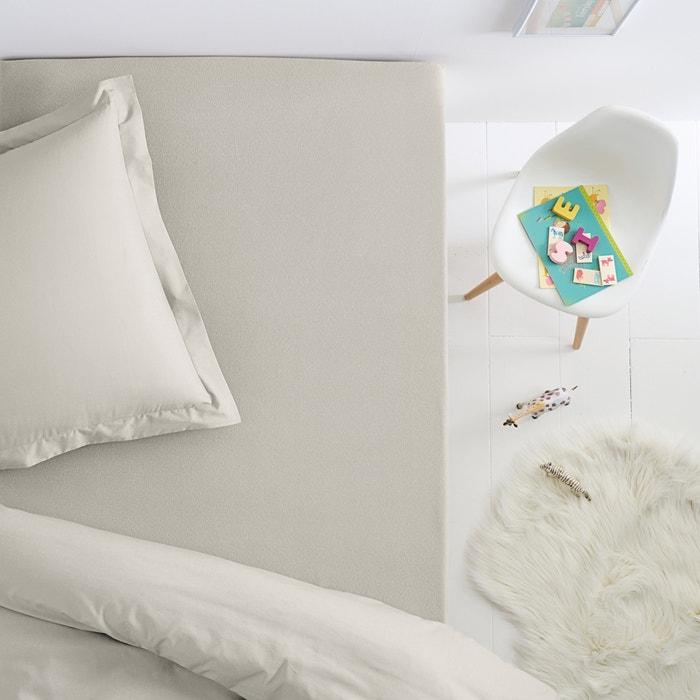 Drap housse jersey pur coton pour lit enfant scenario la for Drap housse enfant