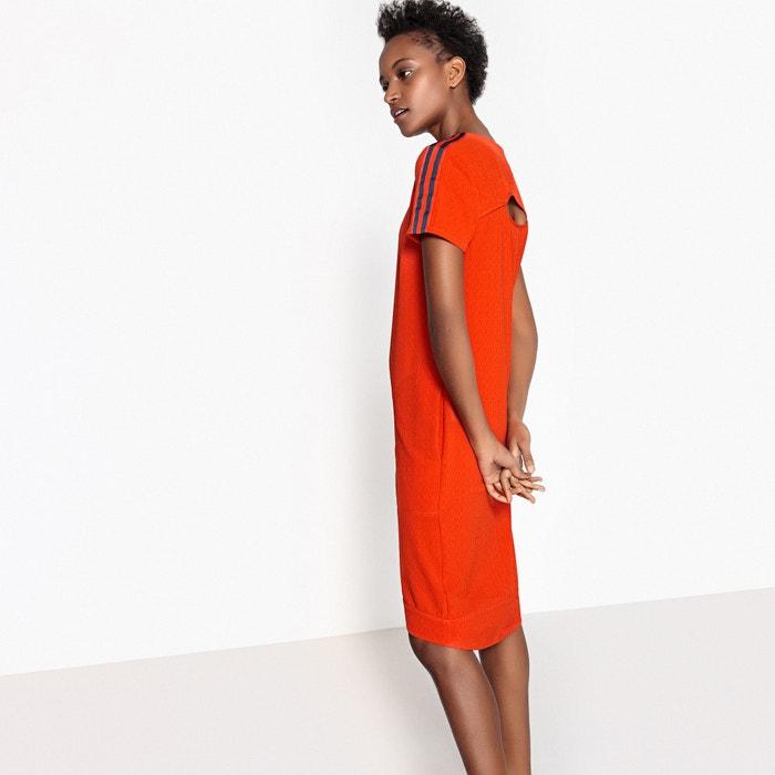 Vestido recto liso, abertura en la espalda  La Redoute Collections image 0
