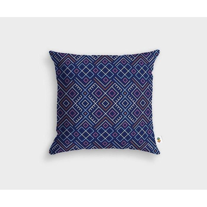 coussin arya 45x45cm multicolore housse de coussin la redoute. Black Bedroom Furniture Sets. Home Design Ideas