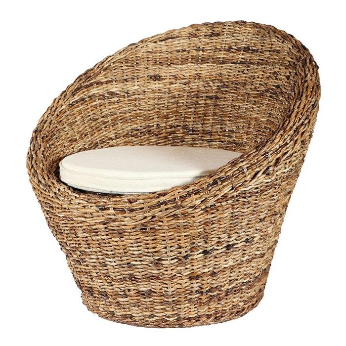 Fauteuil en abaca MAYA - Rotin Design  ROTIN DESIGN image 0
