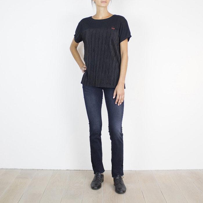 Image Tee shirt col rond, manches courtes LE TEMPS DES CERISES