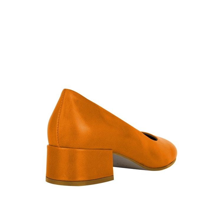 Escarpins nukika arancio Noe