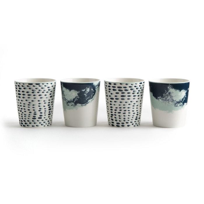 Mug en céramique (lot de 4) ECUME La Redoute Interieurs