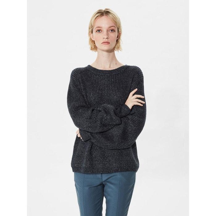 pull en maille loose fit dark sapphire selected femme la redoute. Black Bedroom Furniture Sets. Home Design Ideas