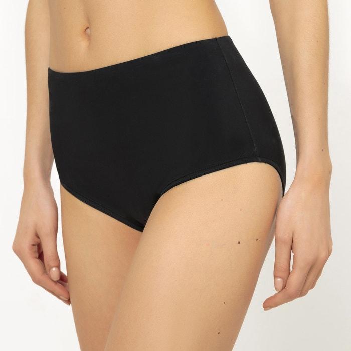 Image Slip per bikini tinta unita INES OLYMPE MERCADAL X LA REDOUTE MADAME