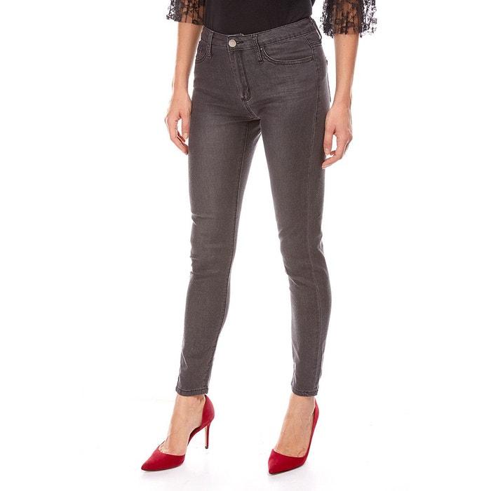 08fb6d71f9a0 Jeans skinny taille haute noir Best Mountain