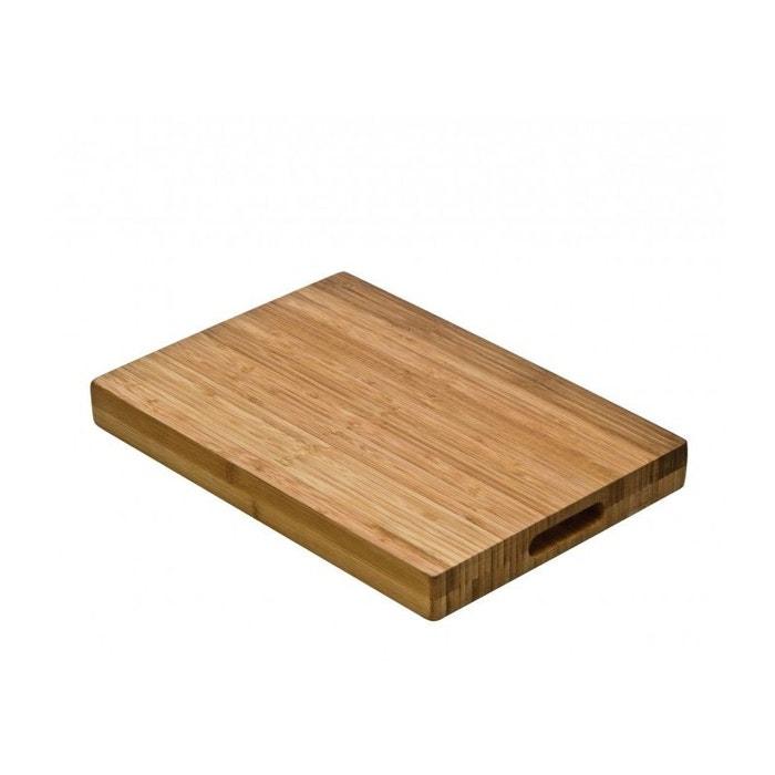 planche d couper bloc de boucher en bambou bois wadiga la redoute. Black Bedroom Furniture Sets. Home Design Ideas