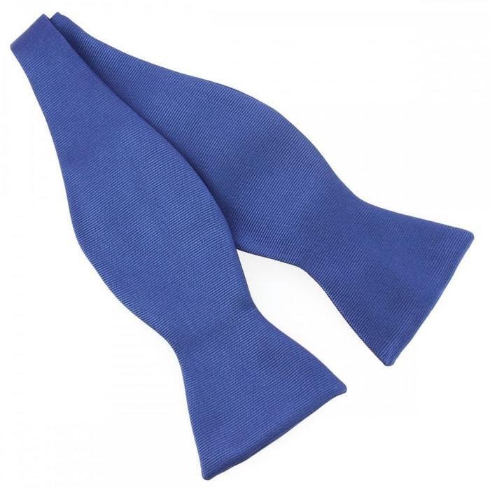 N?ud papillon à nouer en soie, bleu royal, fait à la main bleu Tony Et Paul | La Redoute