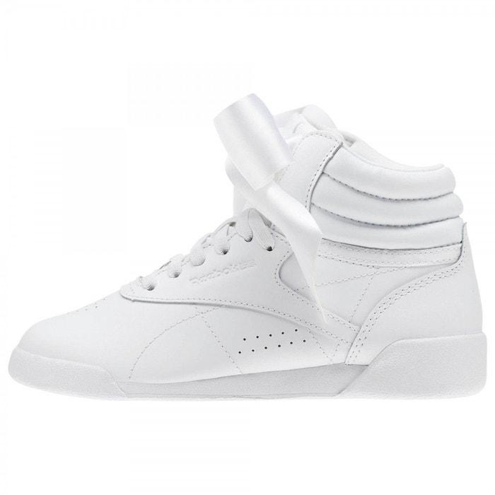 Reebok Sport F/S Hi Satin Bow blanc - Chaussures Basket montante Femme