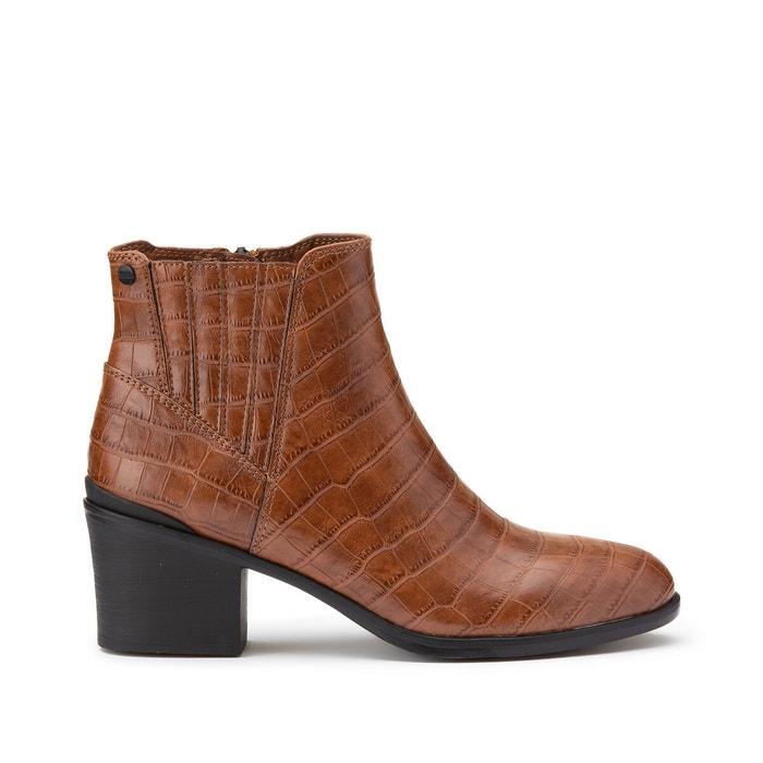 Pesaro bootie boots cognac Esprit | La