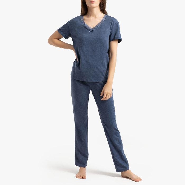 e54680dc3cc40 Pyjama manches courtes en jersey La Redoute Collections | La Redoute