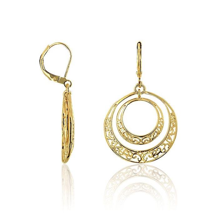 Livraison Gratuite Geniue Stockiste Boucles d'oreilles plaqué or dore Cleor | La Redoute Collections En Ligne Visitez La Vente En Ligne C8HyGRxuq