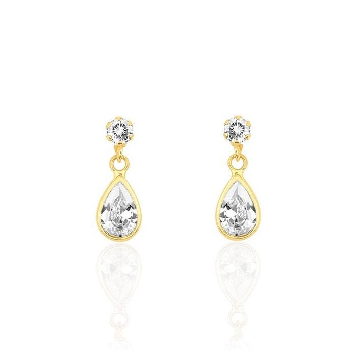 Boucles d'oreilles pendantes or jaune jaune Histoire D'or | La Redoute Vente Pas Cher Expédition Bas 3jhUy