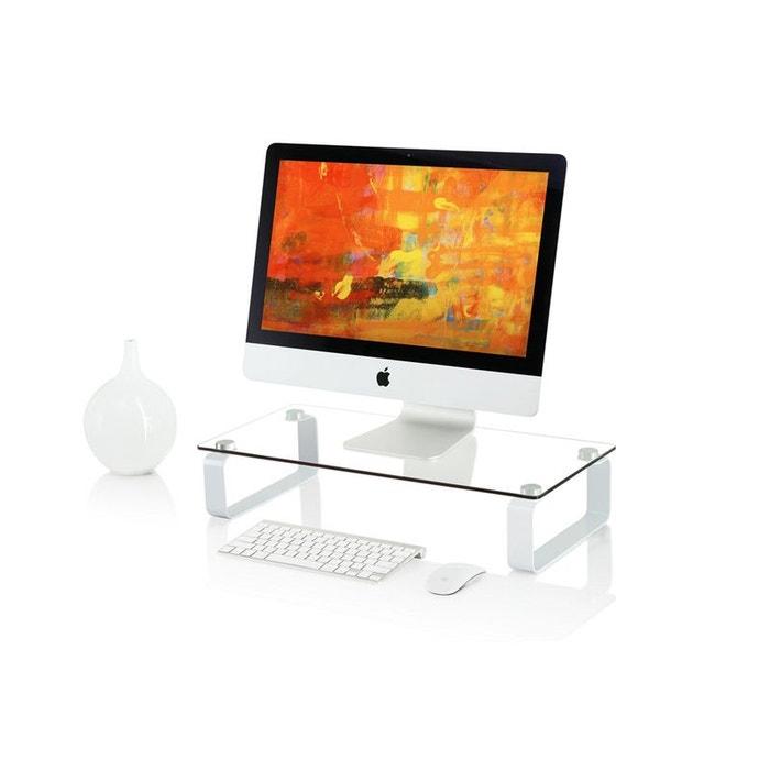 itab white tablette r hausseur pour crans jusqu 39 32 39 39 80cm couleur unique inotek la redoute. Black Bedroom Furniture Sets. Home Design Ideas