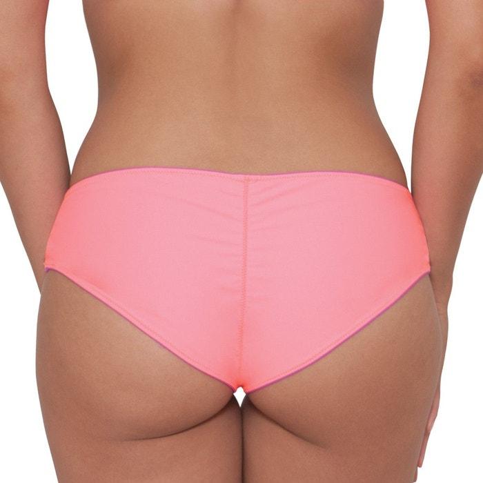 e1e3f4f525 Culotte de bain brésilienne réversible peachy pairs rose fushia Curvy Kate  | La Redoute